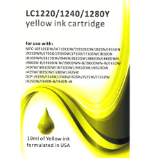 Compatible Brother LC1220 / LC1240Y / LC1280 Yellow ink cartridges