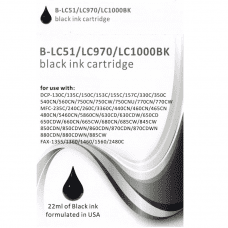 Compatible Brother LC970 ink cartridges Black