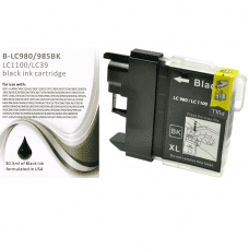 Compatible Brother LC980 ink cartridges Black