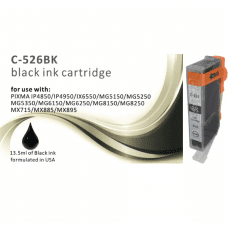 Compatible Canon CLI-526BK Black ink cartridges