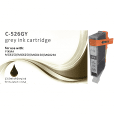 Compatible Canon CLI-526GY Grey ink cartridges