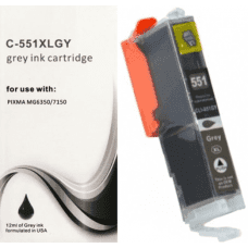 Compatible Canon Grey CLI-551xl ink cartridges CLI-551
