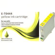 Compatible EPSON T0444 Yellow ink cartridges C13T04444010