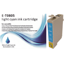 Compatible EPSON T0805 Light Cyan ink cartridges C13T08054010