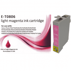 Compatible EPSON T0806 Light Magenta ink cartridges C13T08064010