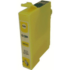 Compatible Epson T1284 Yellow ink cartridges C13T12844011