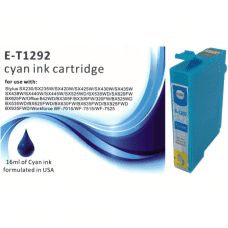 Compatible Epson T1292 Cyan ink cartridges C13T12924011