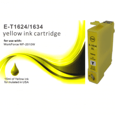 Compatible Epson T1624 T1634 Yellow Ink Cartridges