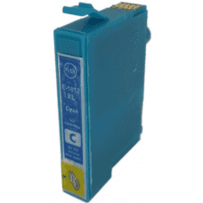 Compatible Epson T1812 ink cartridge Cyan