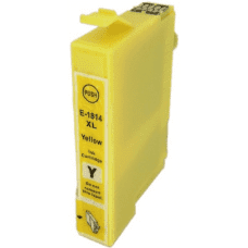 Compatible Epson T1814 ink cartridge Yellow