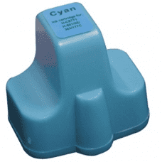 Compatible HP 363 ink cartridges Cyan