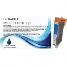 Compatible HP 364XL Cyan ink cartridges
