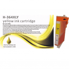 Compatible HP 364XL Yellow ink cartridges